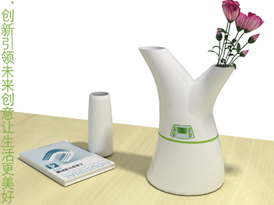 清幽淡雅[空气加湿器]——西摩杯|工业设计|8718